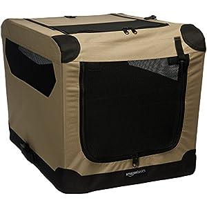 AmazonBasics Portable Folding Soft Dog Travel Crate Kennel 1
