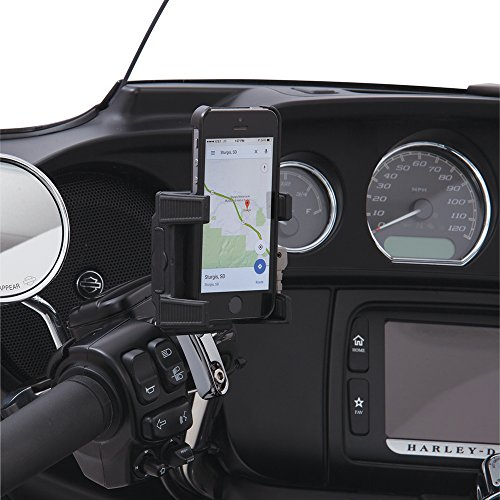 Ciro Smart Phone/GPS Perch Mount Holder without Charger, Chrome Finish 50310