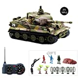 Fun-Here Mini RC Tank with USB Charger Cable Remote