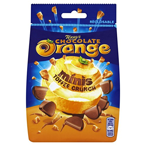 Terrys Chocolate Orange Minis Toffee 125G (Orange Toffee)