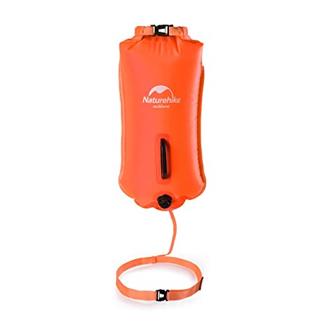 Naturehike - Flotador de seguridad para bañador y bolsa seca para nadadores de agua abierta,