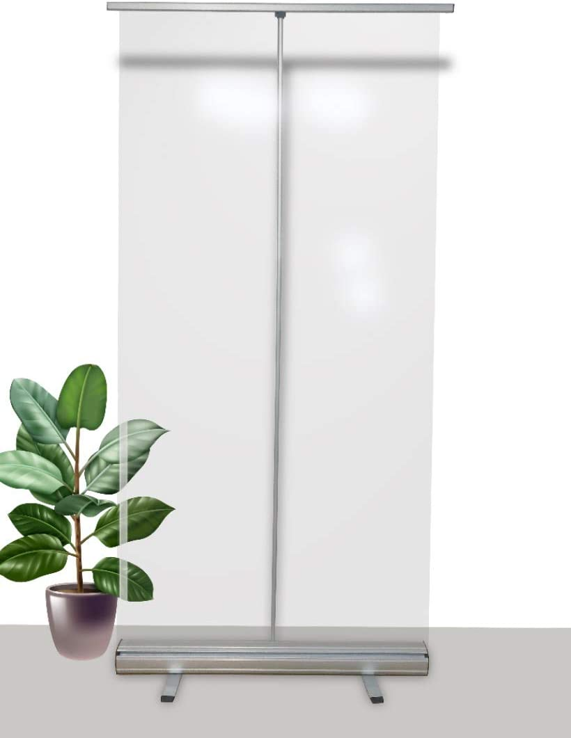 Mampara protectora portátil oficinas y trabajo - Protector móvil ...