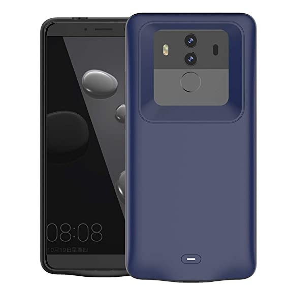 pick up d0e9b bcd44 Amazon.com: for Huawei Mate 10 Pro Battery Case Soft Edge Smart 5200 ...