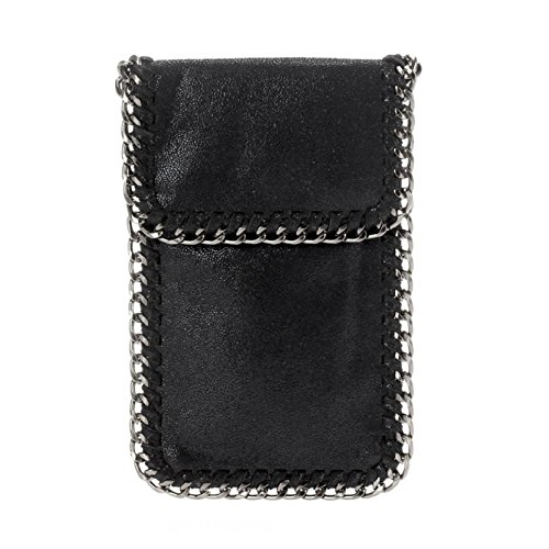 amy-aly-cellphone-bag-crossbody-case-for-smartphone-with-chain-trim-strap-black