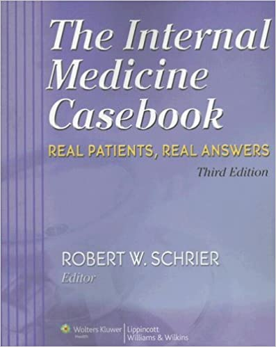 Read The Internal Medicine Casebook: Real Patients, Real Answers PDF