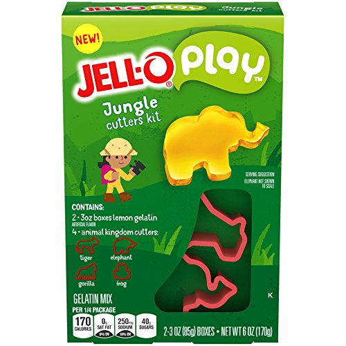 JELL-O Play Jungle Cutters Kit, -