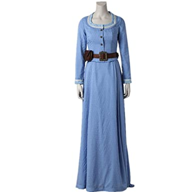 dc0d99d6b1 Sumiaki Westworld Cosplay Costume Dolores Abernath Cosplay Clothing Sexy Tube  Top Dress Ancient Halloween (Female