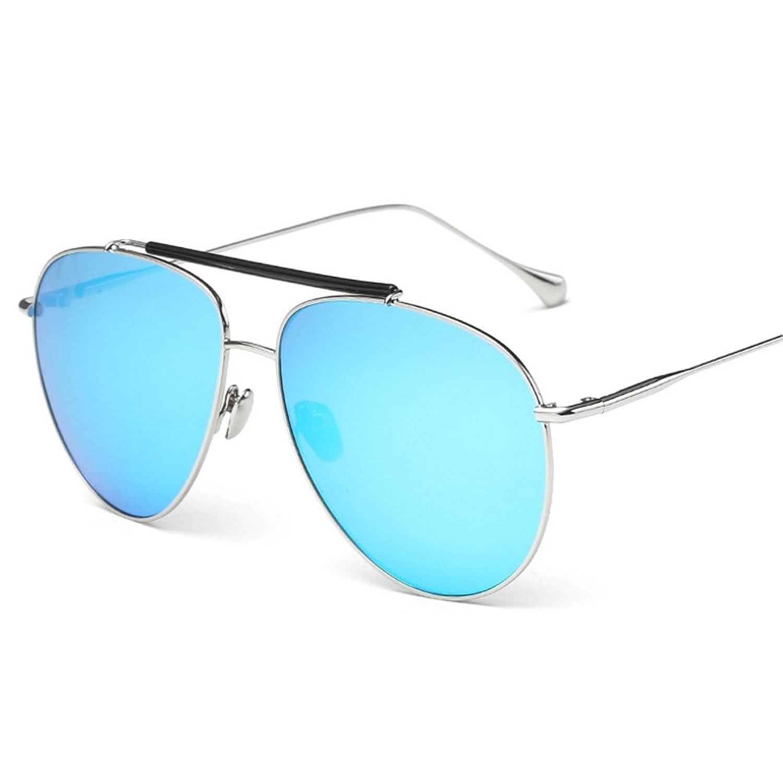2f596ad4d0 Kennifer Moda Unisex Aviador Gafas de sol Hombres Mujeres Metal Marco  Conducción Pesca al Aire Libre