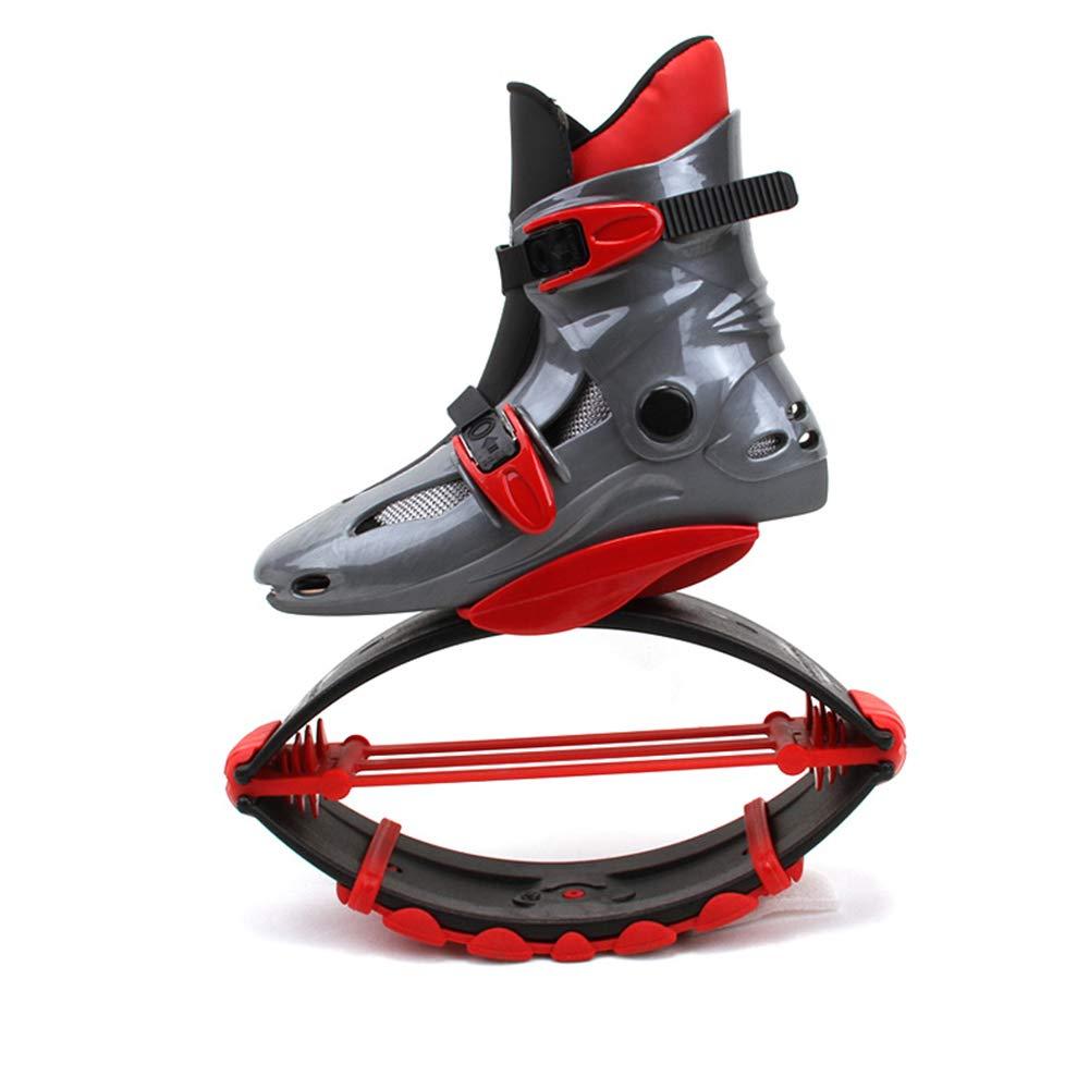 gris rouge S DDDD store Chaussures De Saut élastique Chaussures De Sport en Plein Air Chaussures d'exercice Unisexe Chaussures De Rebond Consomme Plus De Calories équipeHommest De Fitness
