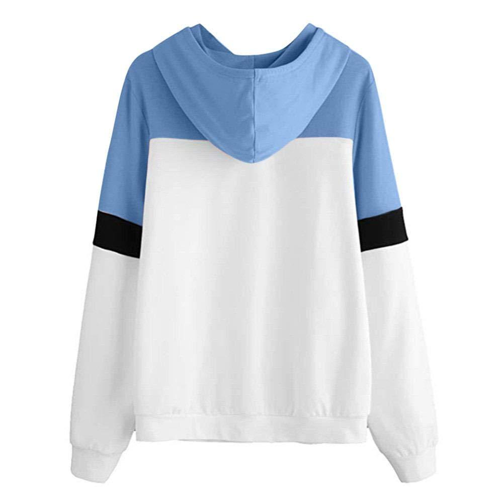 BBestseller Mujeres Camisetas Manga Larga Sudaderas con Capucha Tops Sweatshirt de Abrigo Deporte de Pullover: Amazon.es: Ropa y accesorios