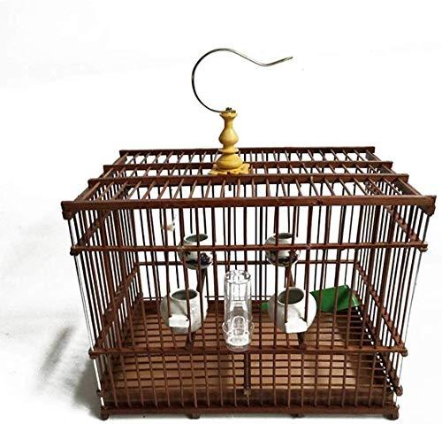 XWYGW Perrera Jaula del pájaro clásico del loro jaula al aire ...