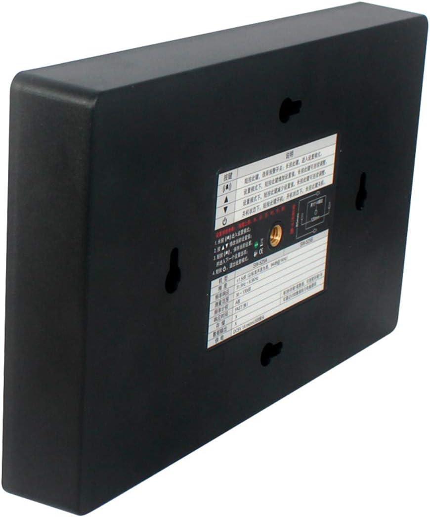 Sound Level Meter USB Wall Hanging with Data Logger and Alarm Noise Measurement Testers Measuring Range 30-130Db,Black Digital Sound Level Meter Decibel Noise Meter