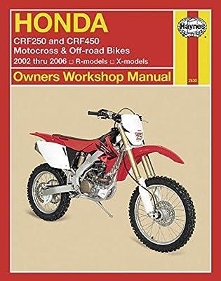 Haynes Manuals Manual Hon Crf250/450 02 06 M2630 New