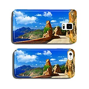 scenic roads of Corsica cell phone cover case Samsung S5