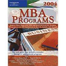 MBA Programs 2004, Guide to, 9th ed (Peterson's Mba Programs)