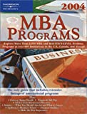 MBA Programs 2004, Peterson's Guides Staff, 0768911605