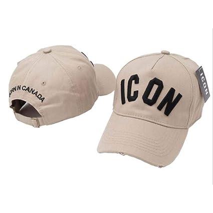 capswhh Letras De Bordado Icon Gorras De Béisbol Sombreros ...