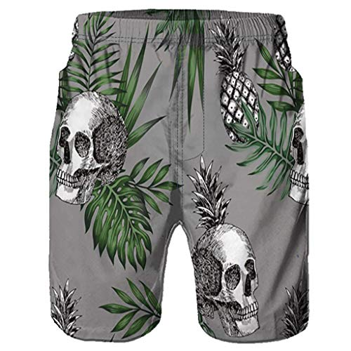 NUWFOR Men Casual 3D Graffiti Printed Beach Work Casual Men Short Trouser Shorts Pants(Z-Multi Color,US:S Waist26.0-29.9'') by NUWFOR (Image #2)