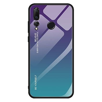 Amazon.com: IVY Y6 - Carcasa de cristal para Huawei Y6 / Y6 ...