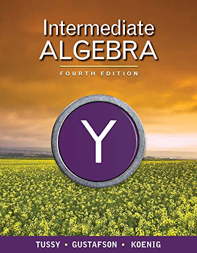 Intermediate Algebra (Available Titles CourseMate)