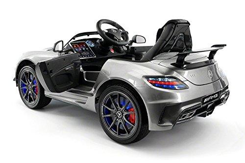 Replica SLS Style Race Car Grey Left Rear