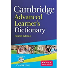 Cambridge Advanced Learner's Dictionary [With CDROM]: Fourth Edition
