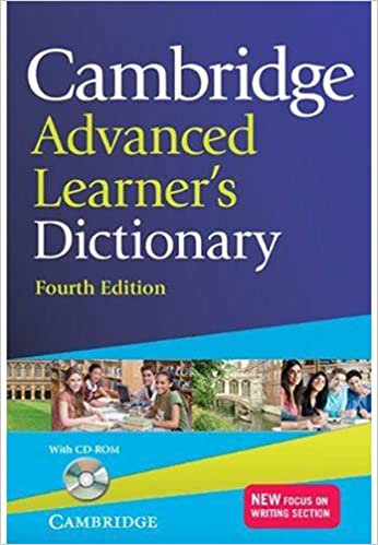 Cambridge Advanced Learner's Dictionary With Cd-rom 4th Edition: Fourth Edition por Vv.aa.