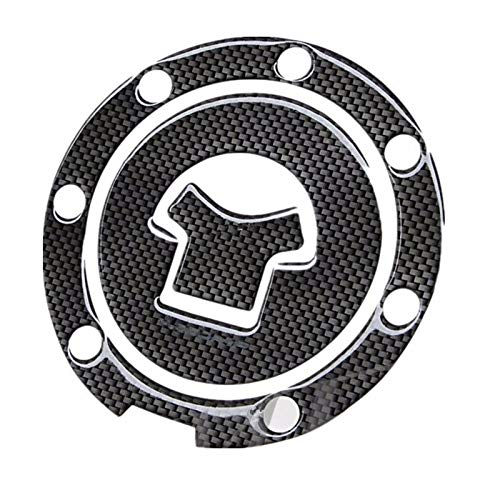 Tank Protector Sticker Motorbike Racing Fiber Fuel Gas Cap Cover Tank Pad Sticker Decal for H-on-da CBR 600 F2/F3/F4/F4i RVF VFR CB400 CB1300