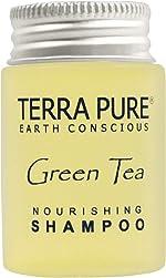 Terra Pure Shampoo, Travel Size Hotel Amenities, 1 oz. (Case of