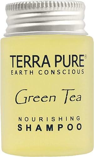 Terra Pure Shampoo, Travel Size Hotel Amenities, 1 oz. (Case of 20)
