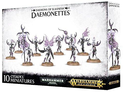 Games Workshop Jeux Atelier 99129915036/Daemons de Slaanesh Daemonettes Plastique kit
