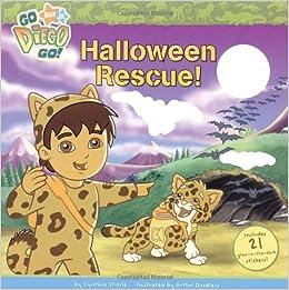 halloween rescue go diego go cynthia stierle artful doodlers 9781416933519 amazoncom books