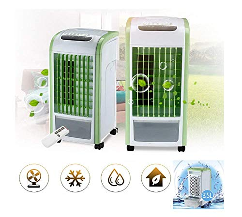 - Basde Portable Air Conditioner USB Charging Air Conditioner Fan Mini Portable Refrigerator Air Cooler Nano Fan with Dehumidifier and Fan for Rooms up to 525 Sq. (Gray) (C)