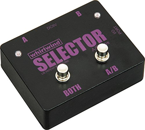 - Whirlwind Selector Instrument Switch Channels A and B or Select Both, 1 Meg Ohm Impedance In/Out