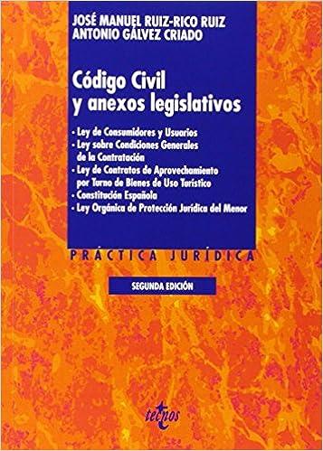 Código Civil Y Anexos Legislativos - 2ª Edición Derecho - Práctica ...