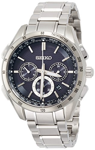 SEIKO BRIGHTZ Men's Watch Solar radio fix Sapphire glass 10 ATM Water resistant SAGA193