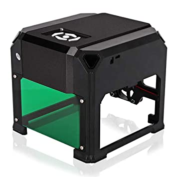 TOPQSC 1500mW Mini DIY Impresora de máquina de grabado USB ...