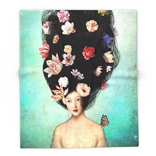 Society6 The Botanist's Daughter 88'' x 104'' Blanket by Society6