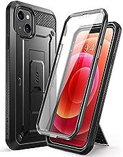 SUPCASE Outdoor Protection voor iPhone 13 6.1 Inch [Unicorn Beetle Pro] Mobiele Telefoon Case 360 Graden Bumper Case Beschermhoes met Screen Protector 2021 (zwart)