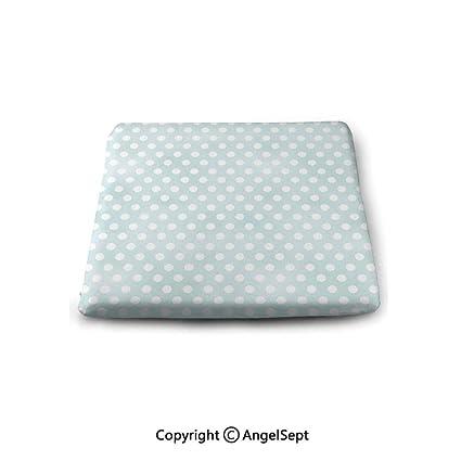 Amazon.com: Oobon - Cojines de asiento cuadrados, diseño ...