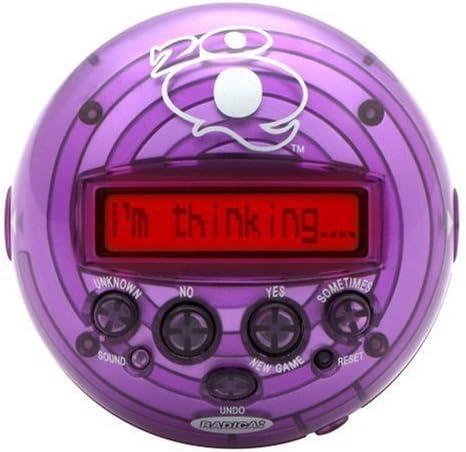 Radica 20Q 2.0 20 Questions Handheld Game Purple