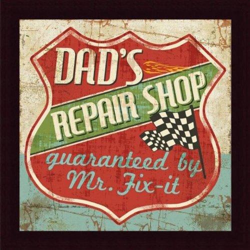 finders Mancave IV Dads Repair Shop by Pela Studio Art