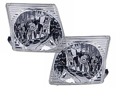 Ford Explorer Sport/Explorer Sport Trac Headlights Headlamps Pair New Set
