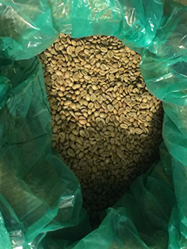 100% ETHIOPIA YIRGACHEFFE GR1 NATURAL MISTY VALLEY UNROASTED GREEN ARABICA COFFEE BEANS 2lbs BAG