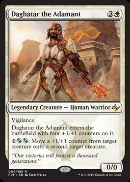 Magic: the Gathering - Daghatar the Adamant (009/185) - Fate Reforged