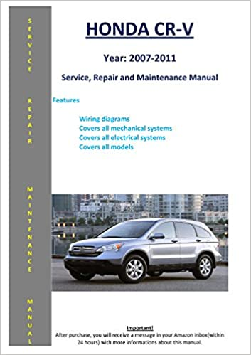 SHOP MANUAL CRV SERVICE REPAIR HONDA BOOK CR-V 2002-2004