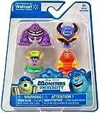 monsters inc 1 toys - Disney / Pixar Monsters University Exclusive 1 Inch Mini Figure 4-Pack Art, Ms. Squibbles, George Sanderson & Johnny Worthington III