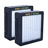[Pack of 2] MarsHydro MARSII 700 Led Grow Light Full Spectrum High Penentration 321True Watt Panel Led Grow Lamp for Indoor Greenhouse/Garden Light & Lighting With Dual Veg/Flower Spectrum