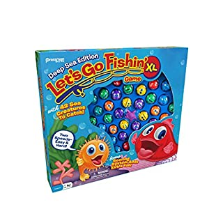 Pressman Let's Go Fishin' XL: Deep Sea Edition, Multicolor