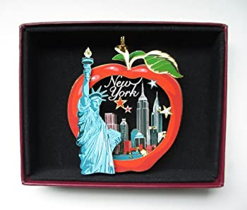 New York City Big Apple Christmas ORNAMENT